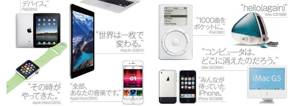 appleの広告