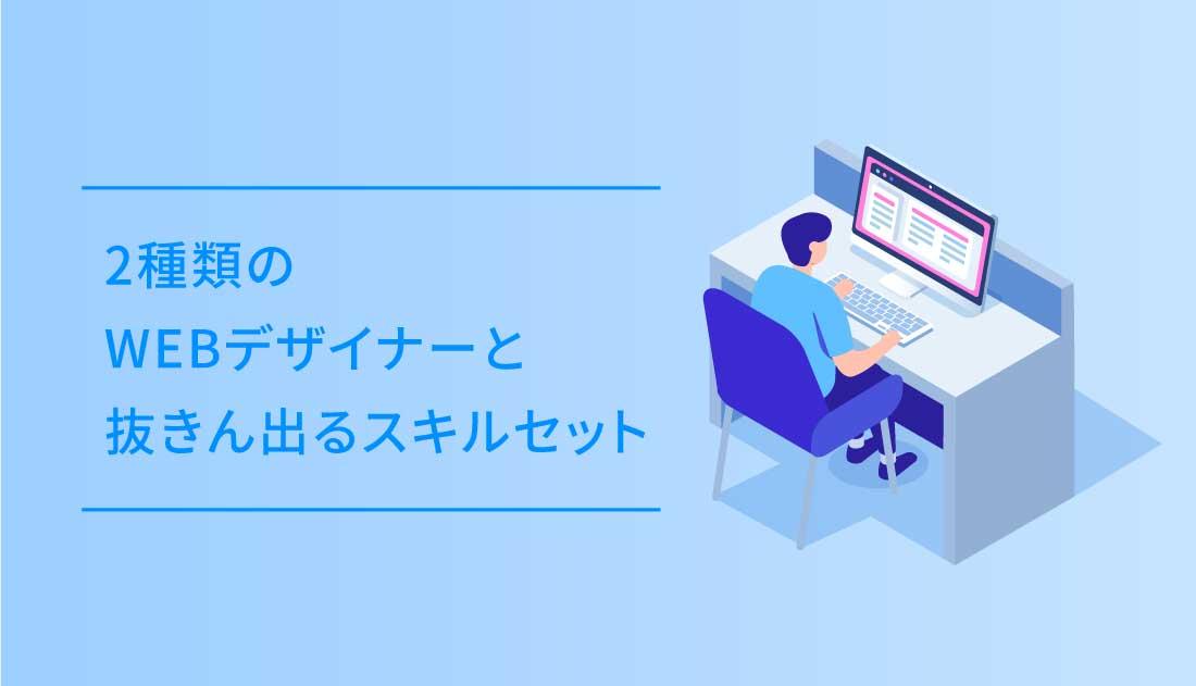 webデザイナーのイラスト